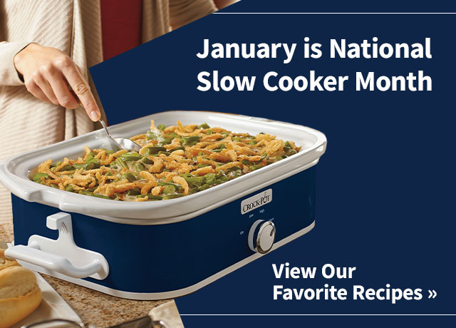 January is National Slow Cooker Month