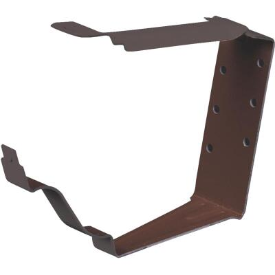 Spectra Metals K Style Aluminim Brown Snap-Lok Gutter Hanger Bracket, 4-Pack