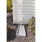 RainGo 2-1/2 In. Square White Vinyl Downspout Image 2
