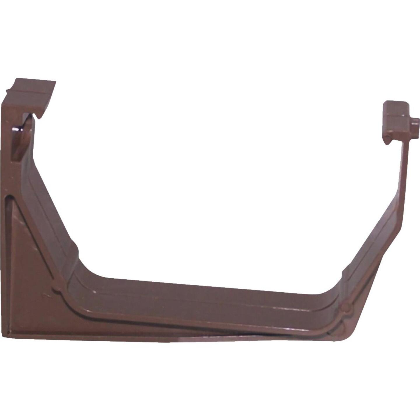 Raingo RainGo Vinyl Brown Heavy Load Gutter Hanger Bracket Image 1