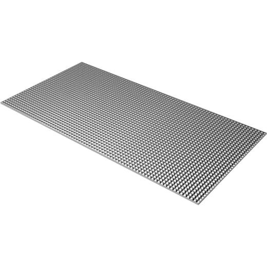 Plaskolite 2 Ft. x 4 Ft. x 3/8 In. Egg Crate Silver Styrene Light Panel