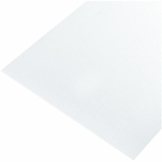 Plaskolite 2 Ft. x 4 Ft. Pattern-12 Prismatic White Acrylic Light Panel