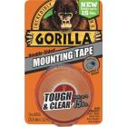 Gorilla 1 In. x 60 In. Tough & Clear Double-Sided Mounting Tape (15 Lb. Capacity) Image 1