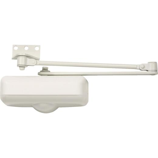 Tell Ivory Grade 3 Residential Door Closer