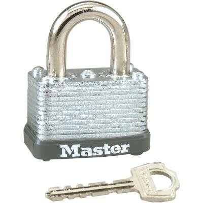 Master Lock 1-1/2 In. W. Warded Keyed Different Padlock