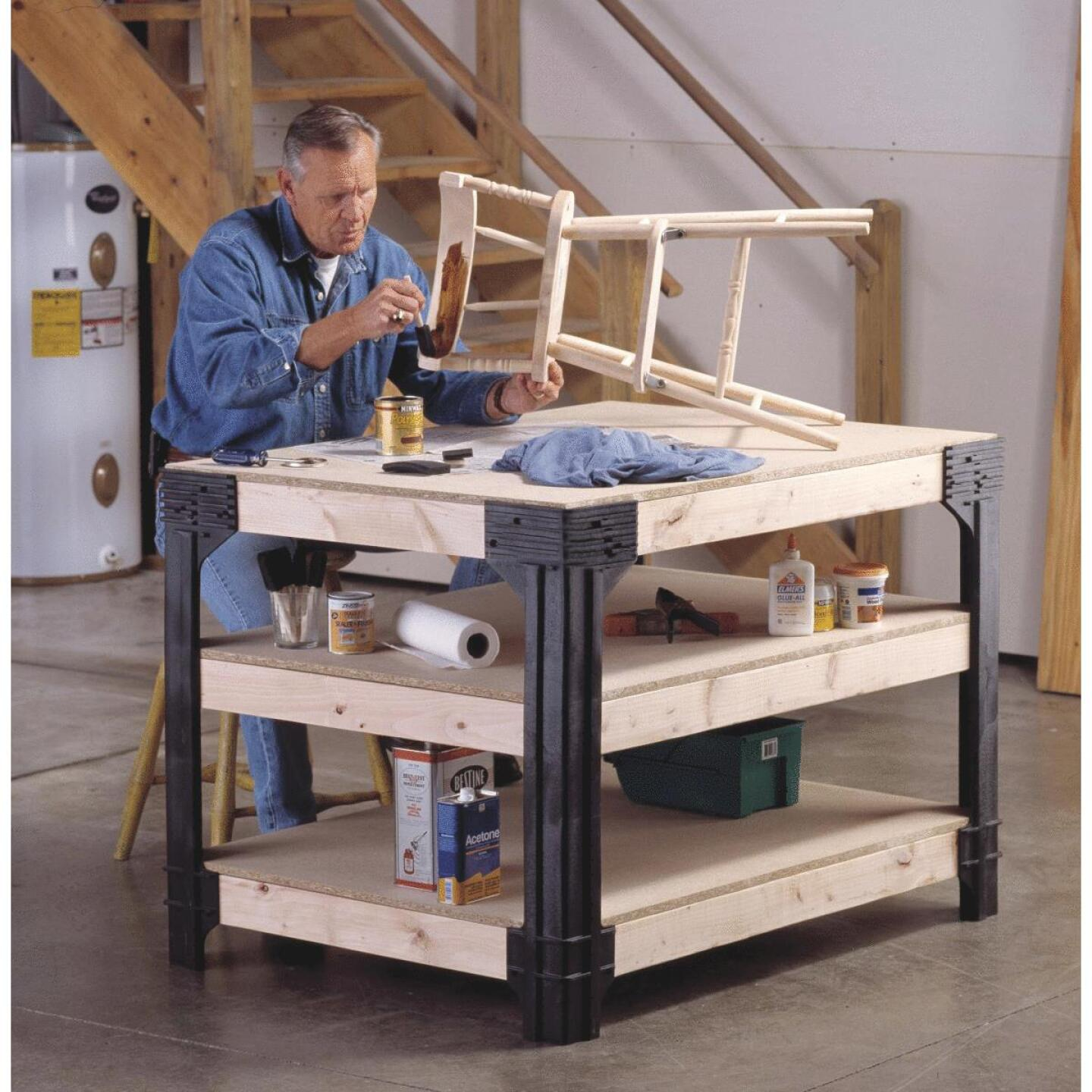 Hopkins Hardware Kit for Workbench, (4-Pieces) Image 2