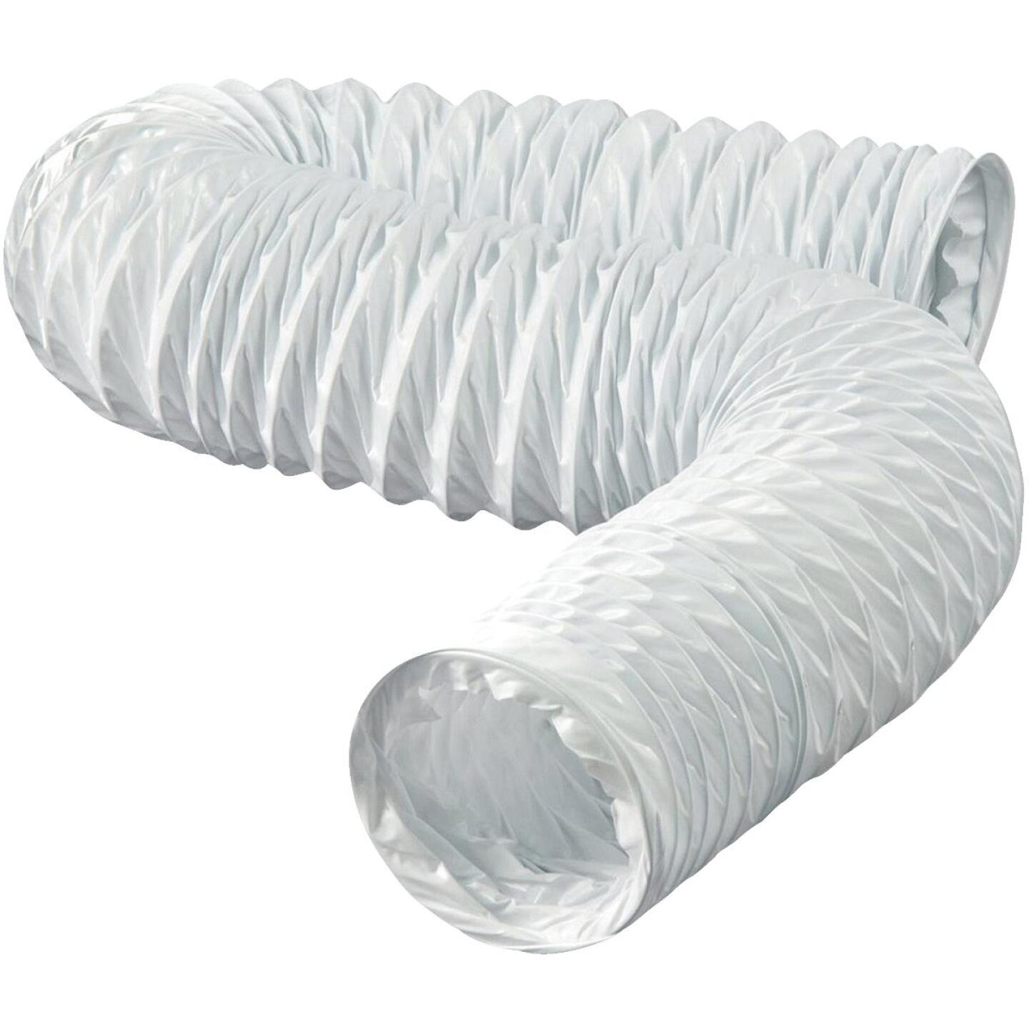 Dundas Jafine 3 In. Dia x 8 Ft. L White Vinyl Flexible Ducting Image 1