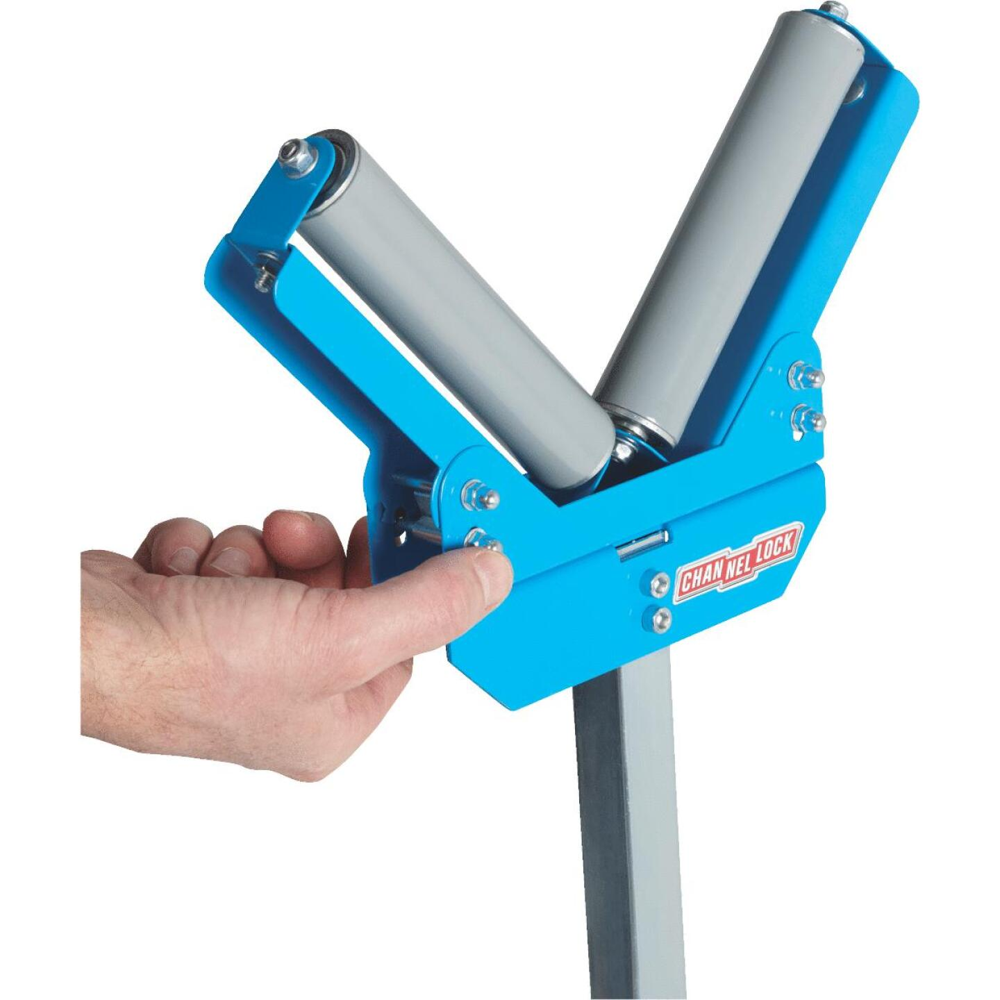 Channellock V-Style Roller Stand Image 7