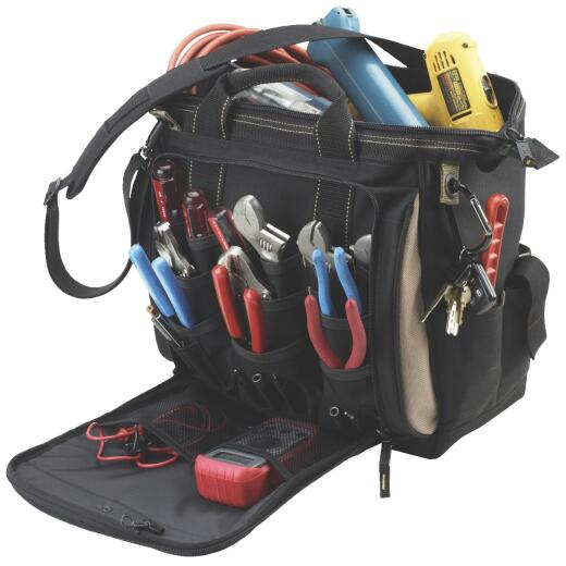CLC 33-Pocket 13 In. Multi-Compartment Tool Bag