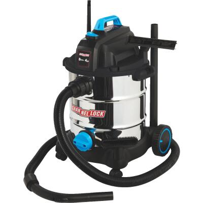 Channellock 8 Gal. 4.0-Peak HP Stainless Steel Wet/Dry Vacuum
