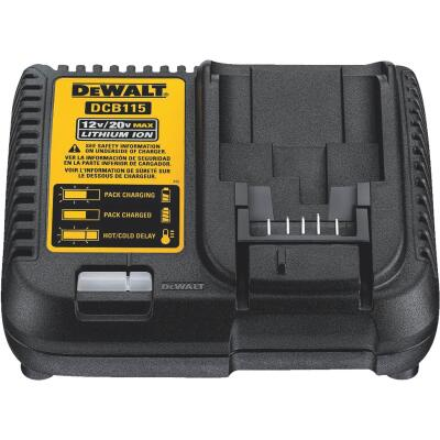 DeWalt 12-Volt to 20-Volt MAX Lithium-Ion Battery Charger