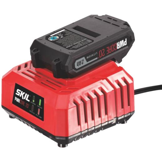 SKIL PWRCore 20 Volt Lithium-Ion Battery Charger