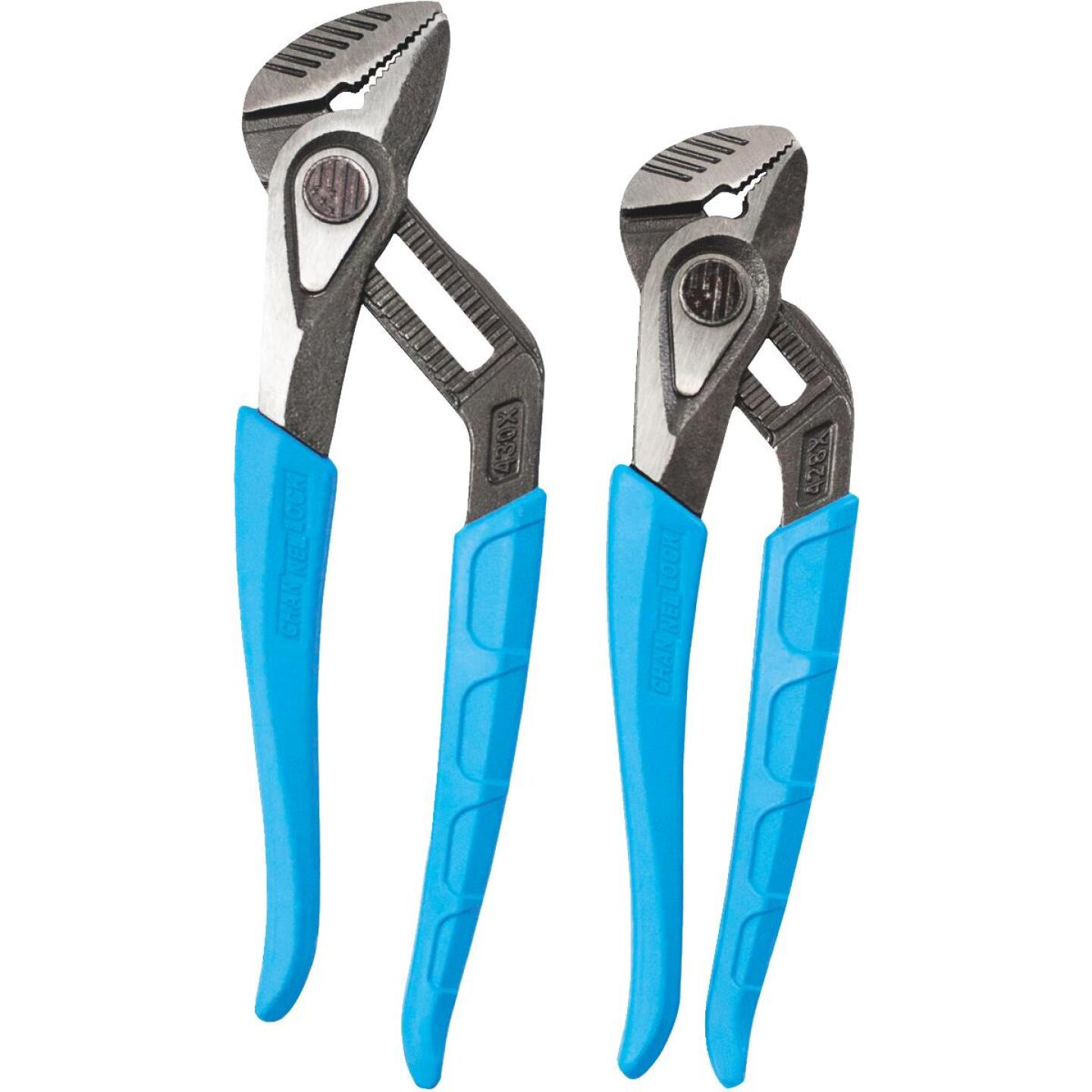 Channellock SpeedGrip 8 In. and 10 In. Plier Set (2-Piece) Image 3