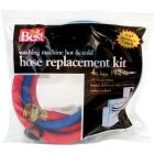 Do it Best 3/8 In. x 4 Ft. ReReinforced EPDM Rubber Washing Machine Hose (2-Pack) Image 1