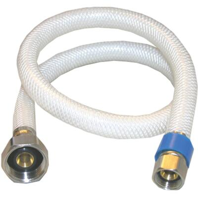 Lasco 3/8 In. C x 1/2 In. FIP x 24 In. L Braided Poly Vinyl Faucet Connector