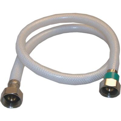Lasco 1/2 In. FIP x 1/2 In. FIP X 30 In. L Braided Poly Vinyl Faucet Connector