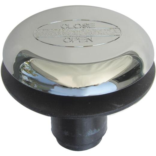 Lasco 3/8 In. x 1-3/4 In. Rapid Fit Tip Toe Bathtub Drain Stopper with Chrome Plated Finish