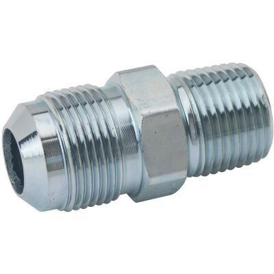 BrassCraft 5/8 In. OD Flare (15/16-16 Thread) x 1/2 In. MIP Steel Gas Fitting, Bulk