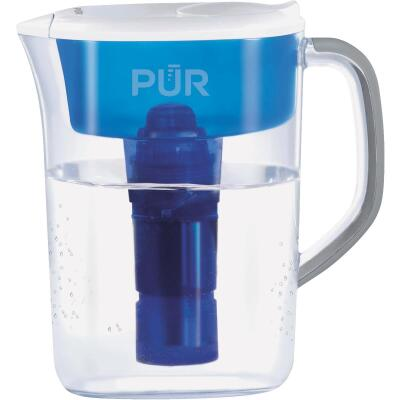 Pur 7-Cup Water Filter Pitcher, Blue