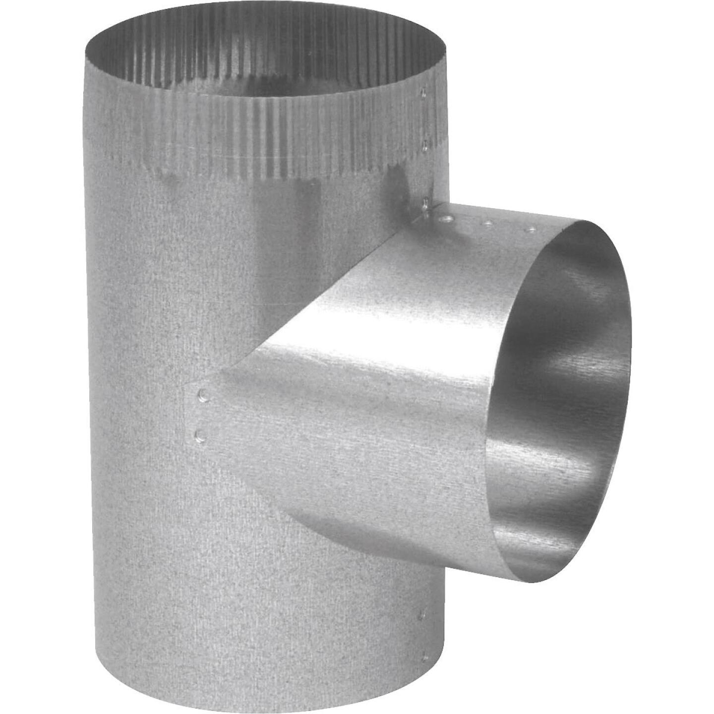 Imperial 26 Ga. 3 In. Straight Galvanized Tee Image 1