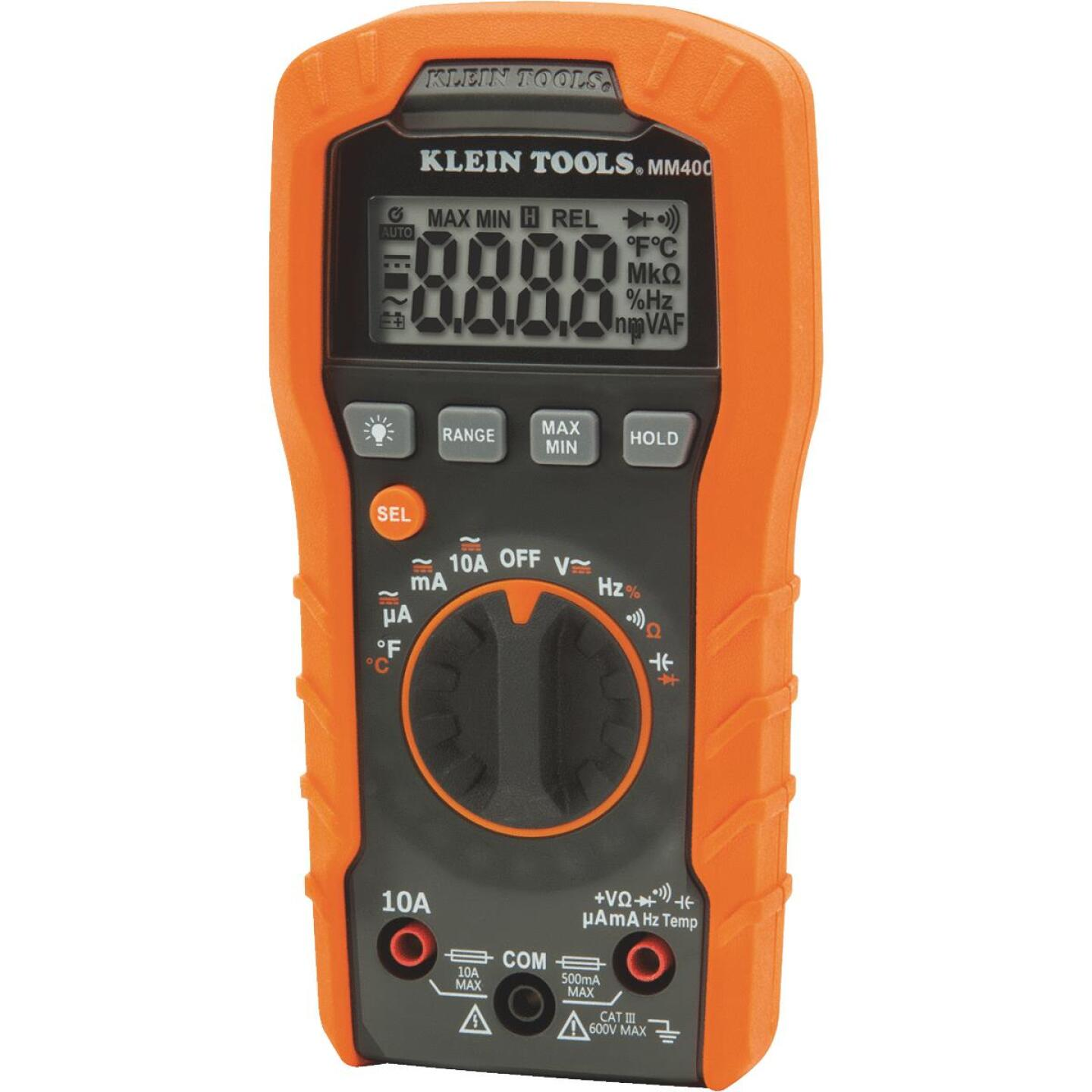 Klein 600V Auto Ranging Digital Multimeter Image 1