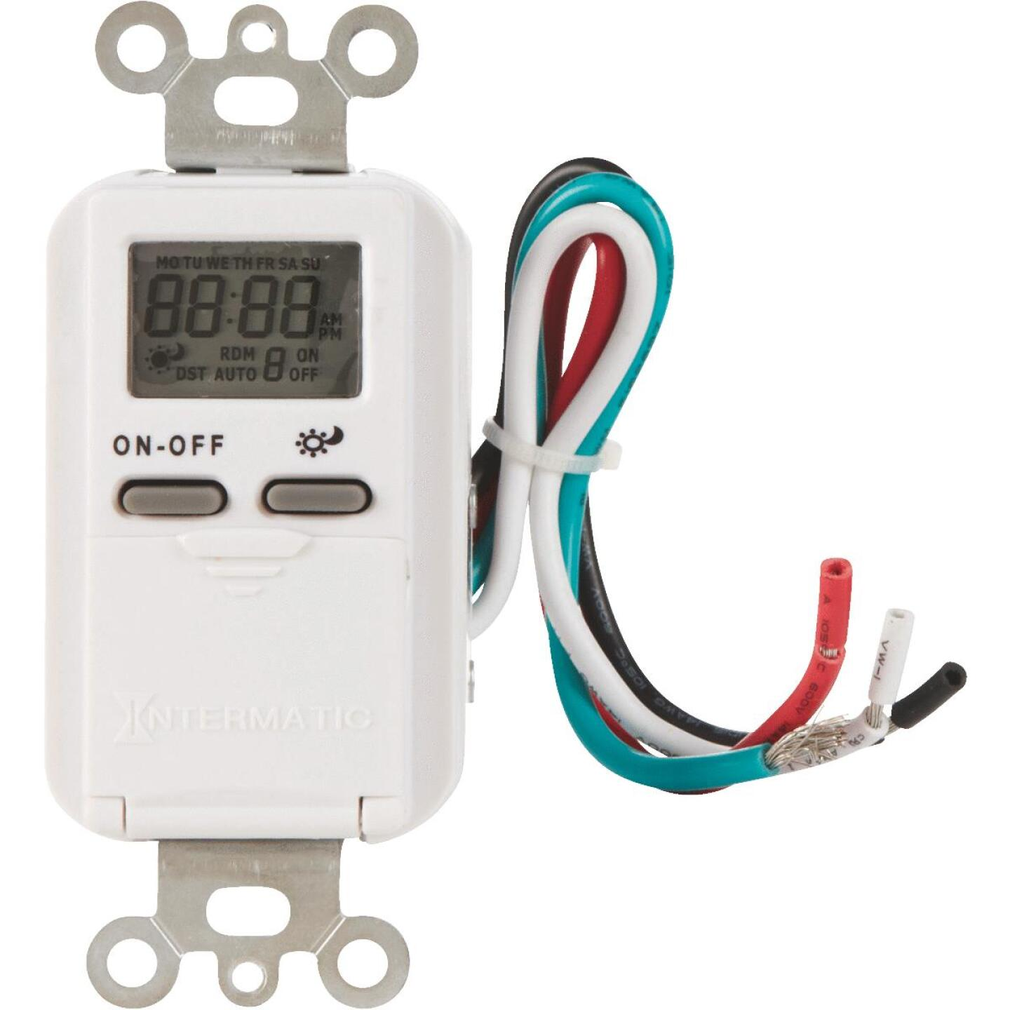 Intermatic 120V 15A 500W Electronic Timer Image 1