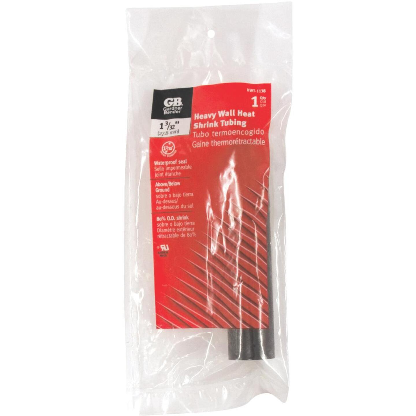 Gardner Bender Heavy-Wall 1-3/32 In. x 6 In. Heat Shrink Tubing Image 1