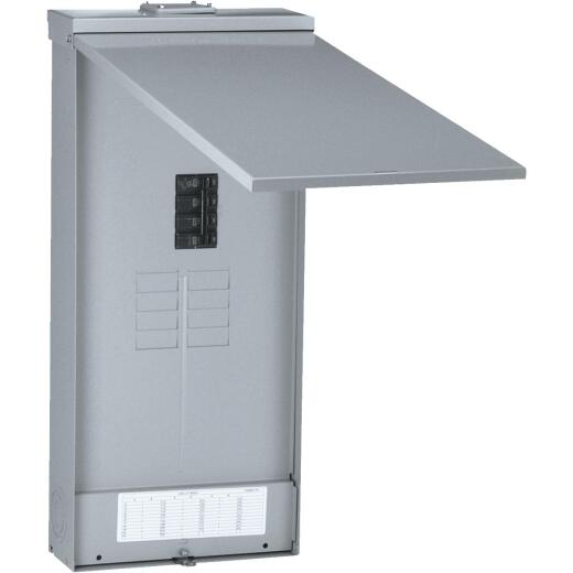 GE PowerMark Gold 200A 8-Space 16-Circuit Outdoor Load Center