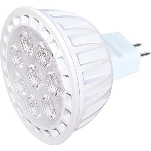 Satco 50W Equivalent Warm White MR16 GU5.3 Dimmable LED Floodlight Light Bulb