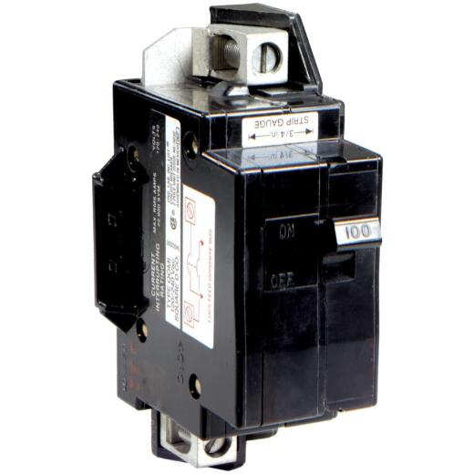 Square D QO 100A Double-Pole Standard Trip Main Breaker