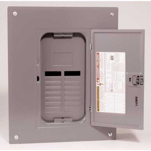 Square D QO 125A 24-Space 24-Circuit Indoor Main Lug Plug-on Neutral Load Center