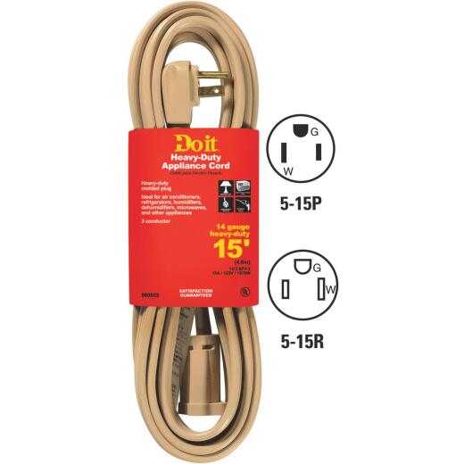 Do it 15 Ft. 14/3 15A Appliance & Air Conditioner Cord