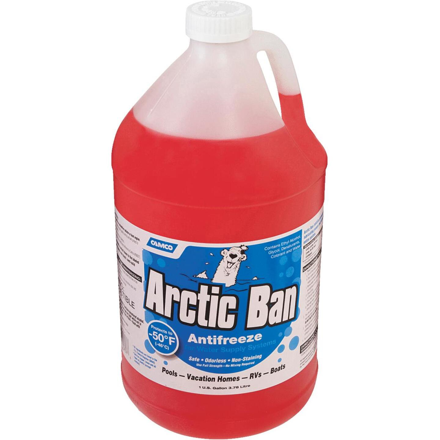 Camco Arctic Ban Gallon -50 Deg F RV and Marine Antifreeze Image 2
