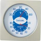 Taylor Fahrenheit Analog 20 to 100 F Hygrometer & Thermometer Image 3