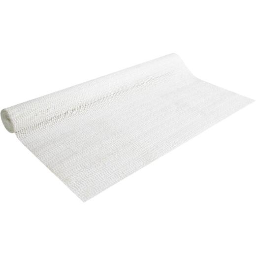 Con-Tact 20 In. x 5 Ft. White Beaded Grip Non-Adhesive Shelf Liner