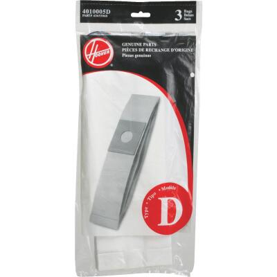 Hoover Type D Standard Vacuum Bag (3-Pack)