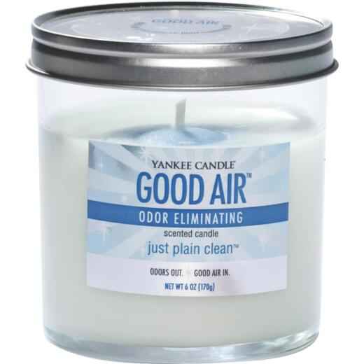 Good Air Just Plain Clean 6 Oz. Freshener Candle