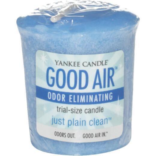 Good Air Just Plain Clean Votive Air Freshener Candle (18 Count)