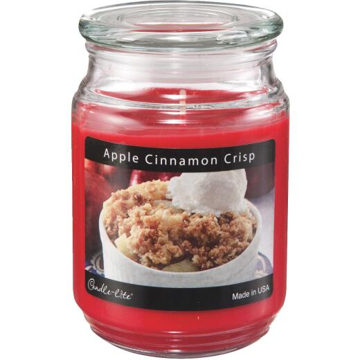 Candle-Lite Everyday 18 Oz. Apple Cinnamon Crisp Jar Candle