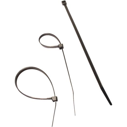 Coolaroo Black Plastic Sun Screen Ties (20-Pack)