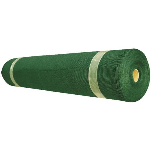 Coolaroo 12 Ft. W. x 50 Ft. L. Heritage Green 90% UV Sun Screen Fabric