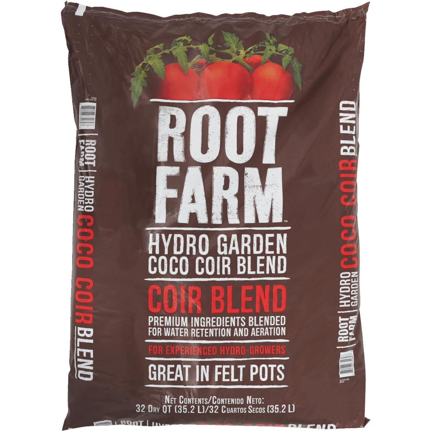 Root Farm 32 Qt. Hydroponic Growing Medium Coco Coir Blend Image 2