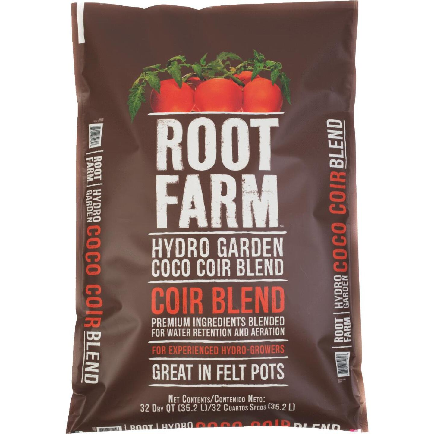 Root Farm 32 Qt. Hydroponic Growing Medium Coco Coir Blend Image 1
