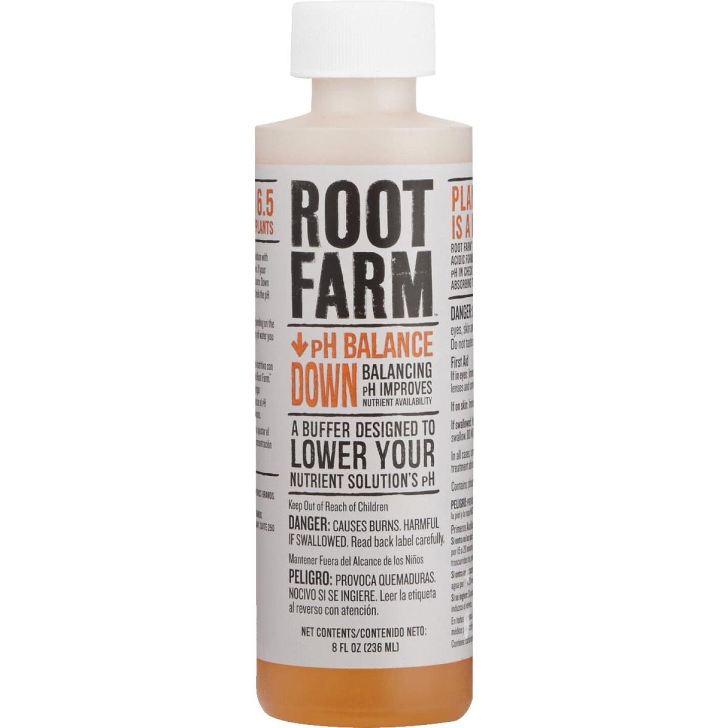 Root Farm 8 Oz. Concentrated Liquid pH Balance Down For Nutrient Solution Image 2