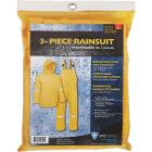 West Chester Large 3-Piece Yellow Polyester Rain Suit Image 2