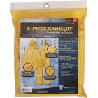 West Chester XL 3-Piece Yellow Polyester Rain Suit Image 2