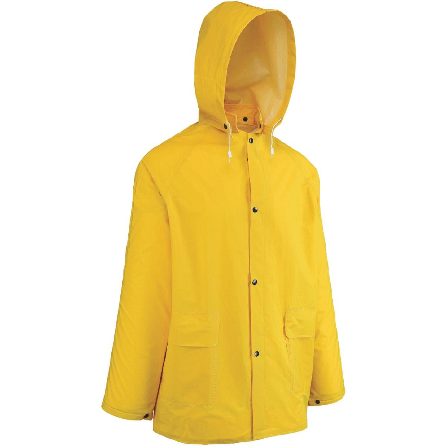 West Chester 2XL Yellow PVC Raincoat Image 1