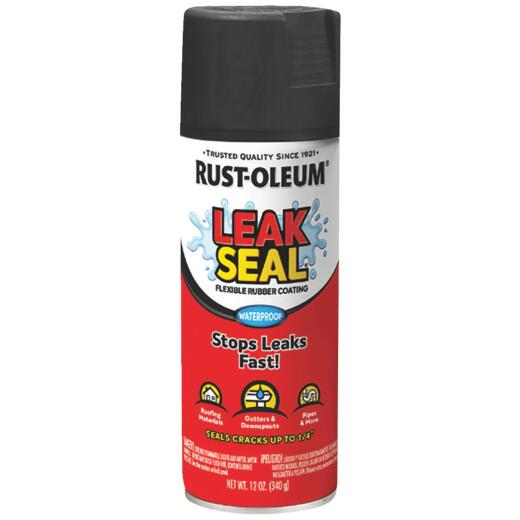 Rust-Oleum LeakSeal 12 Oz. Flexible Rubber Coating, Black