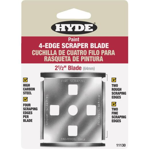 Hyde 2-1/2 In. 4-Edge Replacement Scraper Blade