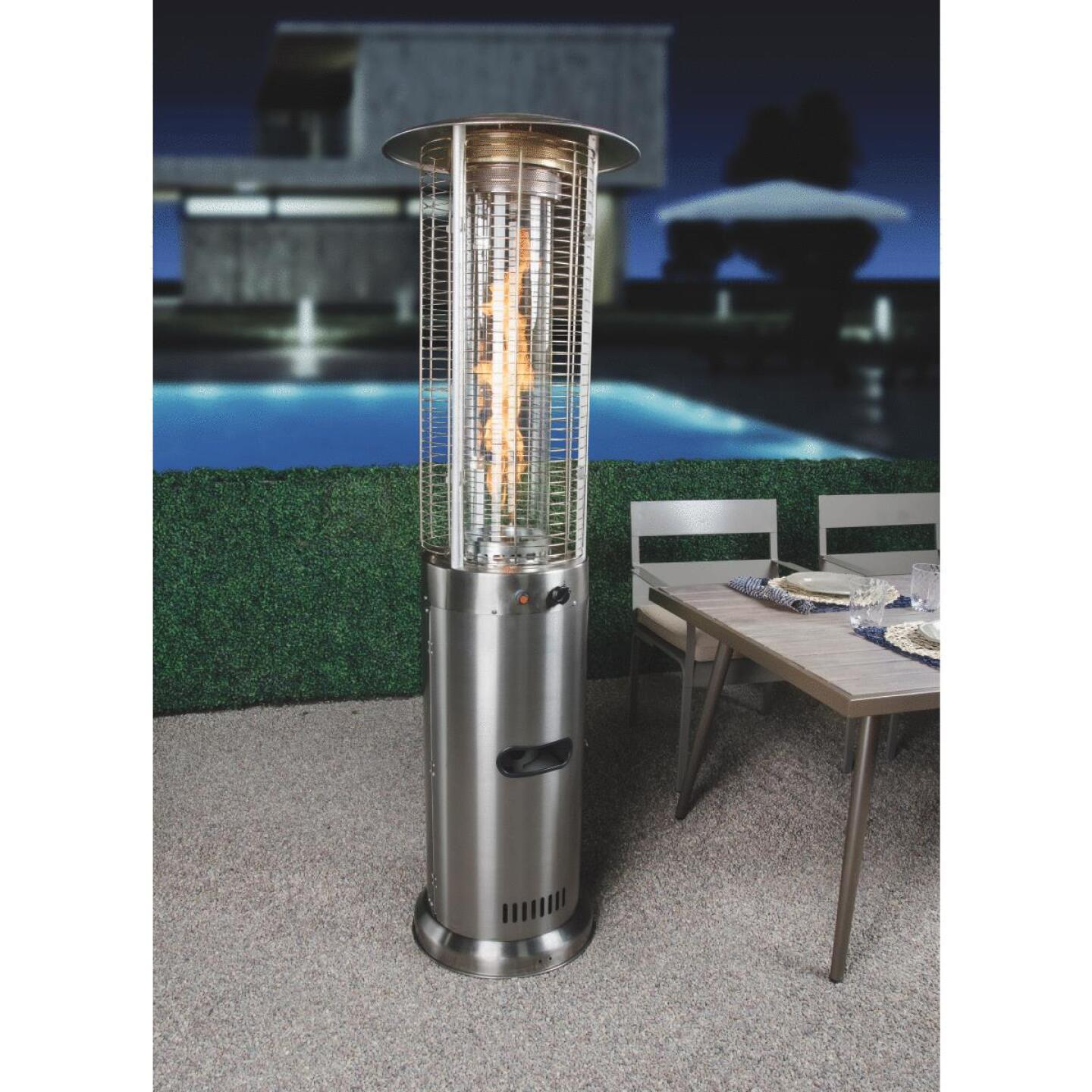 Bond 46,000-BTU Stainless Steel or Bronze Powder Coat Rapid Induction Gas Patio Heater Image 3